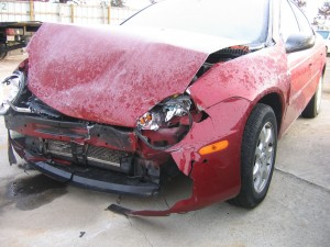 The Car that Saved my Face